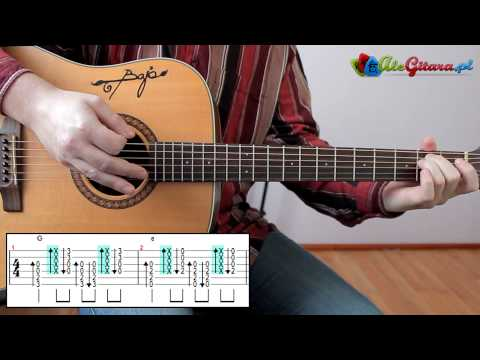 Początki na gitarze elektrycznej